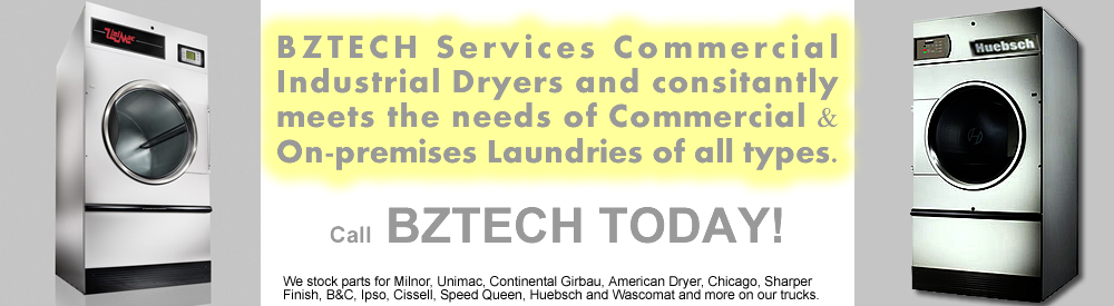 LAUNDRY EQUIPMENT OPL ON-PREMISE INDUSTRIAL COMMERCIAL DRYER REPAIR SERVICE